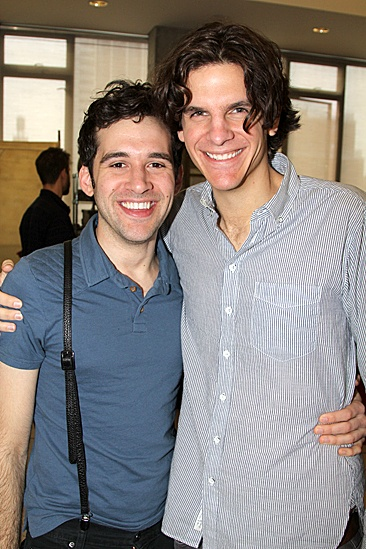 Peter and the Starcatcher Meet and Greet  Adam Chanler-Berat  Alex Timbers