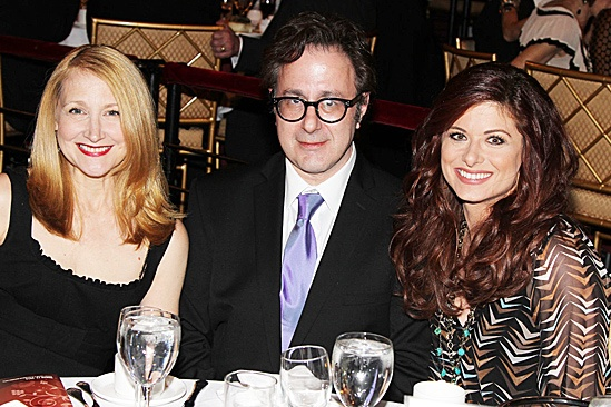Linda Lavin at the Vineyard Theatre Gala – Patricia Clarkson – Nicky Silver - Debra Messing
