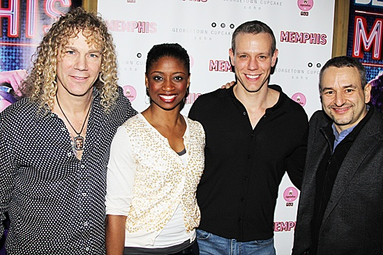 Memphis Celebrates 1,000 Performances – David Bryan – Montego Glover -   Adam Pascal – Joe DiPietro