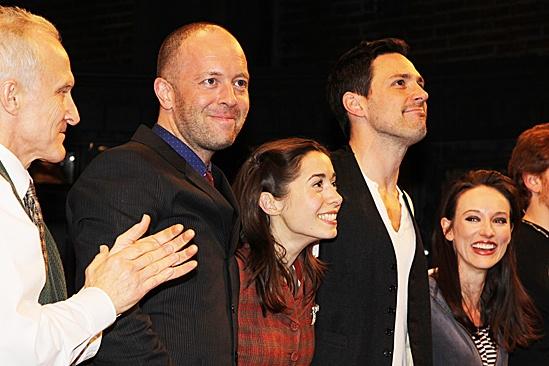 Once opening night –David Patrick Kelly - John Tiffany – Cristin Milioti – Steve Kazee – Elizabeth A. Davis