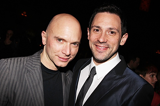 Once opening night  Michael Cerveris  Steve Kazee  