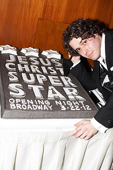 Jesus Christ Superstar opening night – Josh Young –