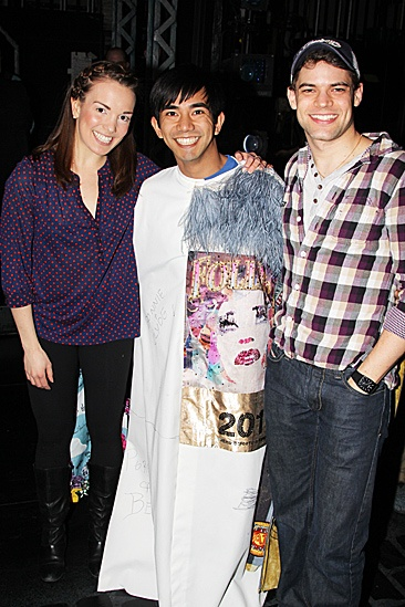 Newsies Gypsy Robe  Kara Lindsay - Aaron J. Albano  Jeremy Jordan