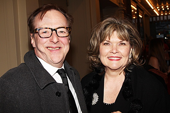 End of the Rainbow- Opening- Edward Hibbert and Debra Monk