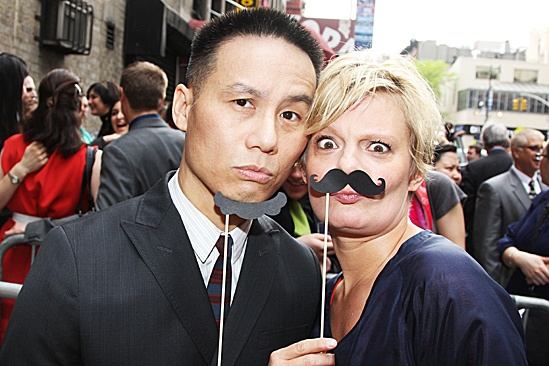 Peter and the Starcatcher Opening Night  B.D. Wong - Martha Plimpton