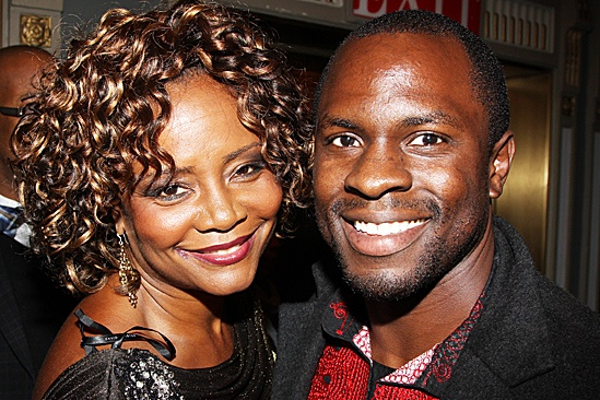 A Streetcar Named Desire opening night – Tonya Pinkins - Gbenga Akinnagbe