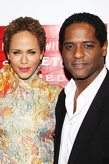A Streetcar Named Desire opening night  Nicole Ari Parker  Blair Underwood 