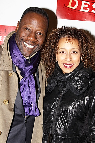 A Streetcar Named Desire opening night – Gregory Generet – Tamara Tunie