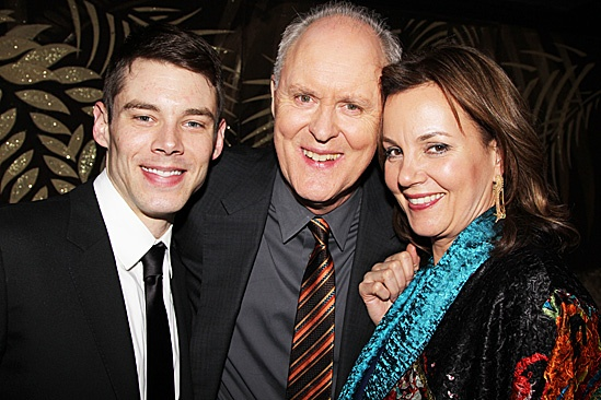 The Columnist Opening Night – Brian J. Smith – John Lithgow – Margaret Colin