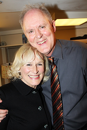 The Columnist Opening Night – Glenn Close – John Lithgow