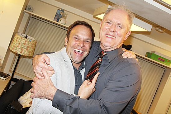 The Columnist Opening Night – Norbert Leo Butz – John Lithgow