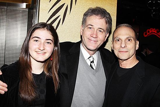 The Columnist Opening Night – Leslie Gaines – Boyd Gaines – Barry Kohn