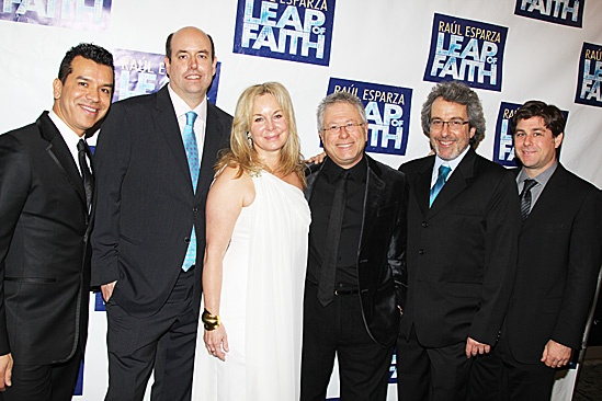 Leap of Faith Opening Night – Sergio Trujillo – Christopher Ashley – Janus Cercone – Alan Menken – Warren Leight – Glenn Slater