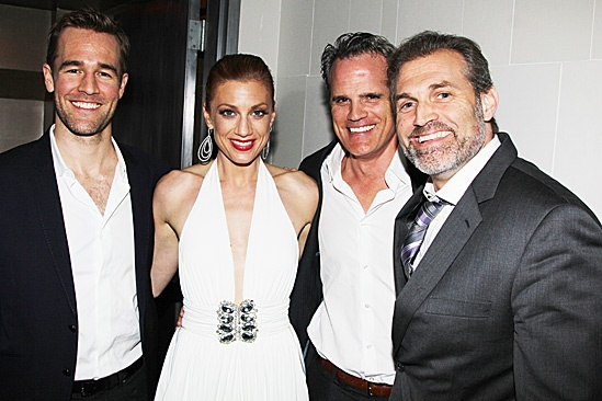 Leap of Faith Opening Night  James Van Der Beek  Jessica Phillips  Michael Park - Marc Kudisch