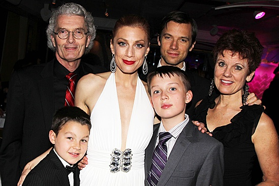 Leap of Faith Opening Night – Jessica Philips and family
