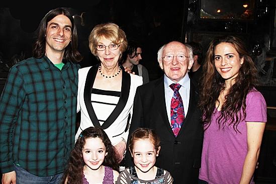Irish President Visits Once –  Lucas Papaelias – tk – McKayla Twiggs – Ripley Sobo – Michael D. Higgins – Erikka Walsh