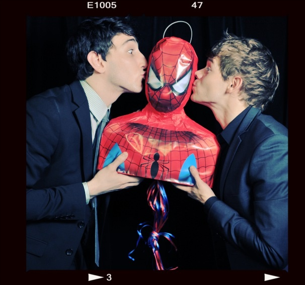 2012 Audience Choice Awards Photo Booth  - Ben Fankhauser – Andrew Keenan-Bolger