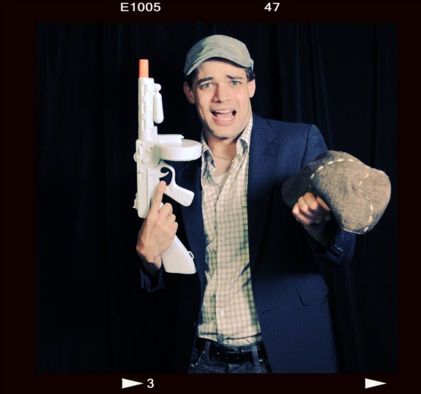 2012 Audience Choice Awards Photo Booth  - Jeremy Jordan