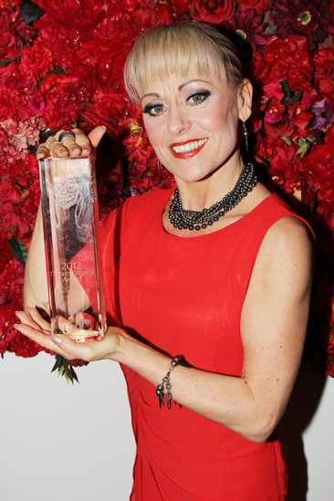 Theatre World Awards- Tracie Bennett