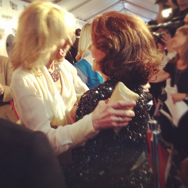 2012 Tony Awards Instagram Snapshots  Judith Light  Linda Lavin  