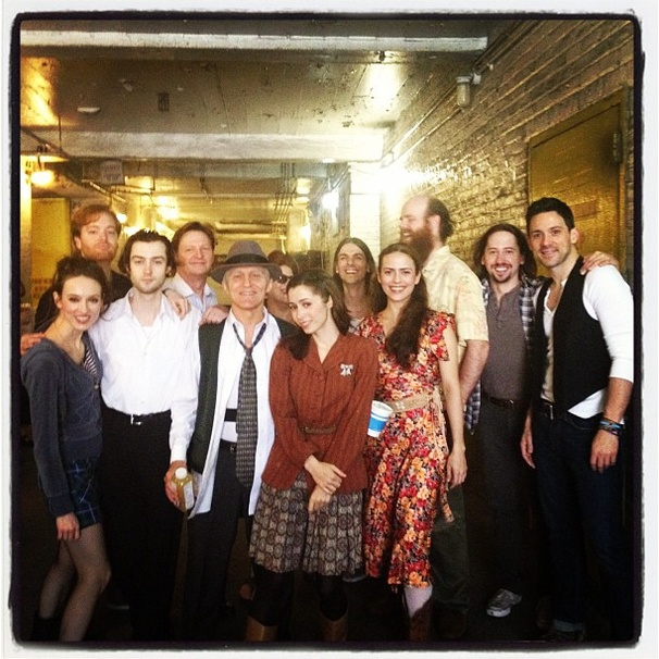 2012 Tony Awards Instagram Snapshots – Once Cast