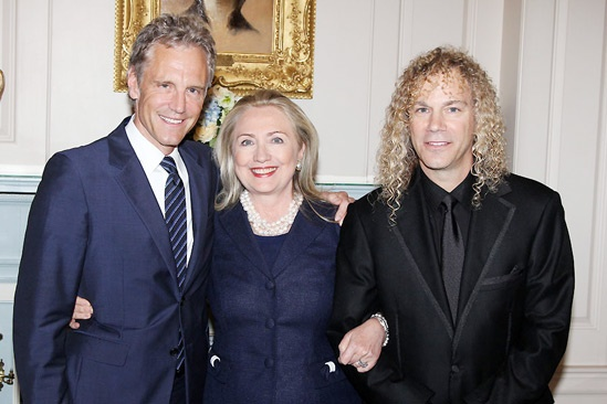 David Bryan Grand Piano to State Department – John Sykes – Hillary Clinton – David Bryan