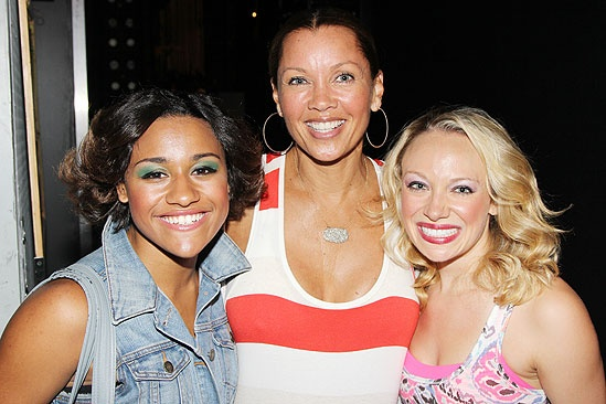 Vanessa Williams Visits Bring It On – Ariana DeBose - Vanessa Williams – Courtney Corbeille