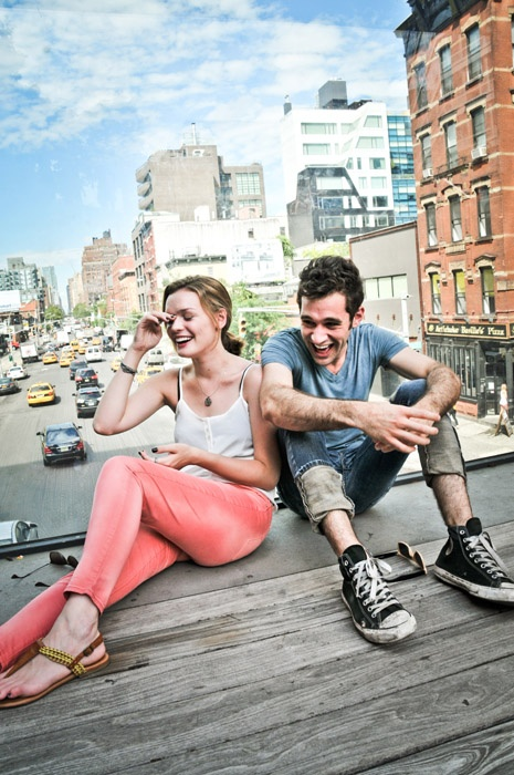 Broadway Besties -  Jennifer Damiano and Adam Chanler-Berat