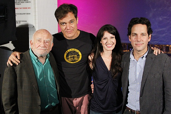 Grace Meet and Greet  Ed Asner  Michael Shannon  Kate Arrington  Paul Rudd 