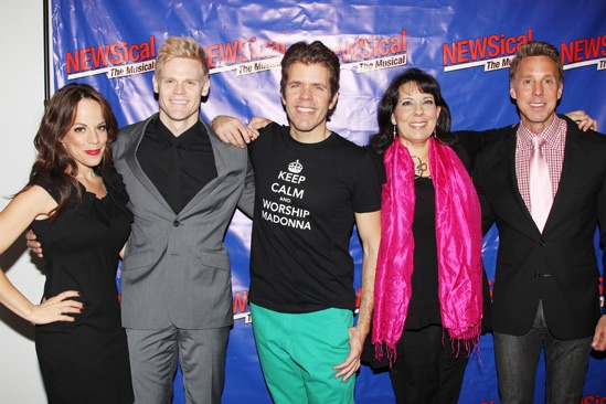 Newsical Opening-Leslie Kritzer- Tommy Walker- Perez Hilton  Christine Pedi- Michael West