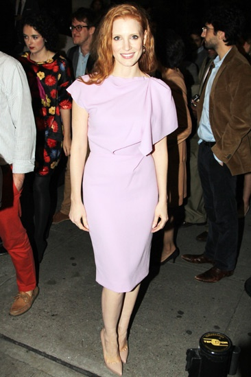 If There Is I Haven't Found It Yet – Opening Night – Jessica Chastain