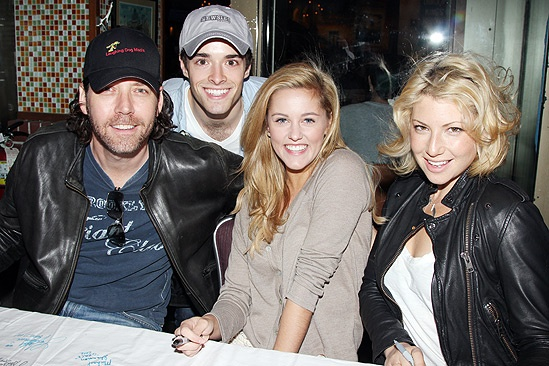 Broadway Flea Market  James Barbour- Corey Cott- Taylor Louderman- Ari Graynor