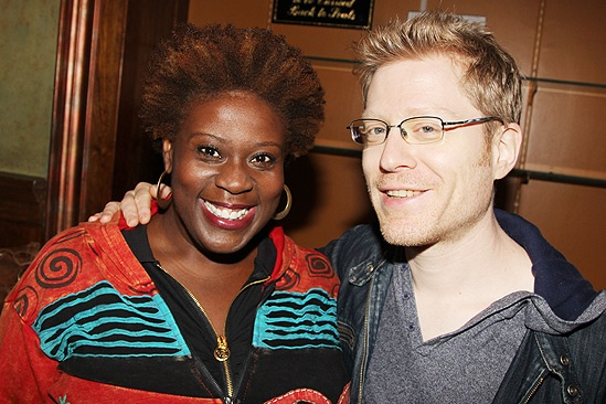 Broadway Flea Market  Capathia Jenkins- Anthony Rapp
