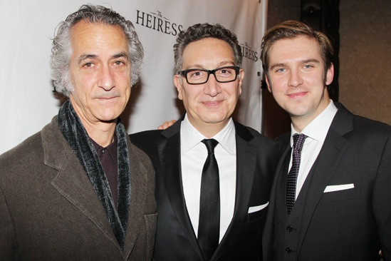 The Heiress – Opening Night – David Strathairn – Moises Kaufman – Dan Stevens