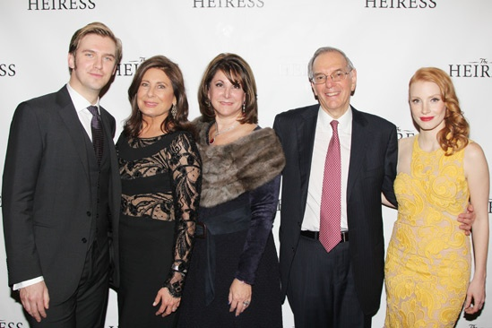 The Heiress – Opening Night – Dan Stevens – Paula Wagner – Stephanie P. McClelland – Roy Furman – Jessica Chastain
