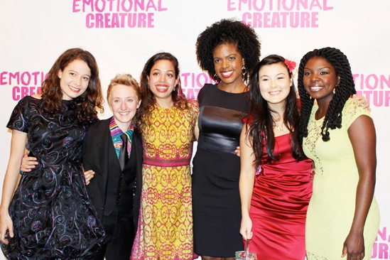 Emotional Creature - opening - Molly Carden - Emily Grosland - Sade Namei - Ashley Bryant - Olivia Oguma - Joaquina Kalukango