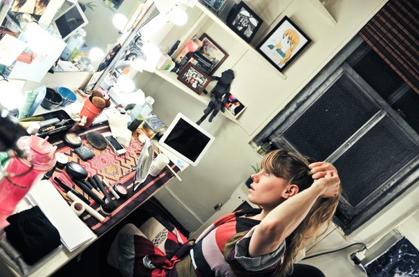 Starcatcher-Backstage-Celia Keenan-Bolger