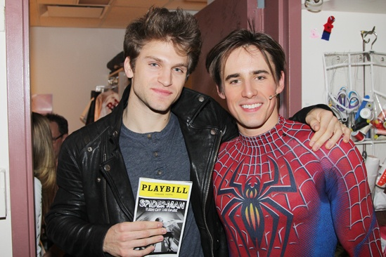 Keegan Allen at Spider-Man – Keegan Allen - Reeve Carney