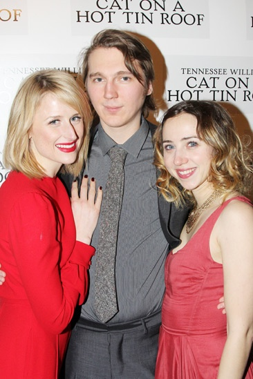 Cat on a Hot Tin Roof – opening – Mamie Gummer – Paul Dano – Zoe Kazan