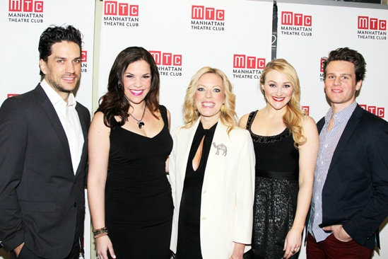 MTC Winter Gala - Will Swenson - Lindsay Mendez  - Sherie Rene Scott - Betsy Wolfe - Jonathan Groff 