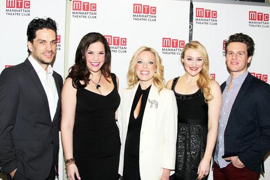 MTC Winter Gala - Will Swenson - Lindsay Mendez  - Sherie Rene Scott - Betsy Wolfe - Jonathan Groff