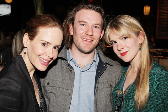'Talley's Folly' Opening — Sarah Paulson — Michael Rabe — Lily Rabe