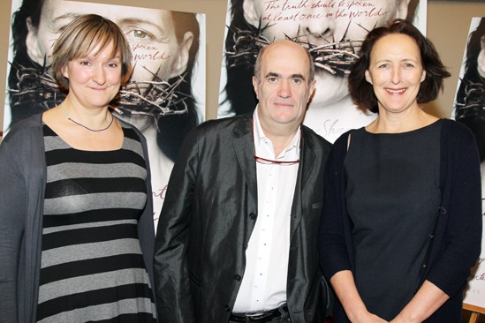 The Testament of Mary – Meet & Greet – Deborah Warner – Colm Toibin – Fiona Shaw