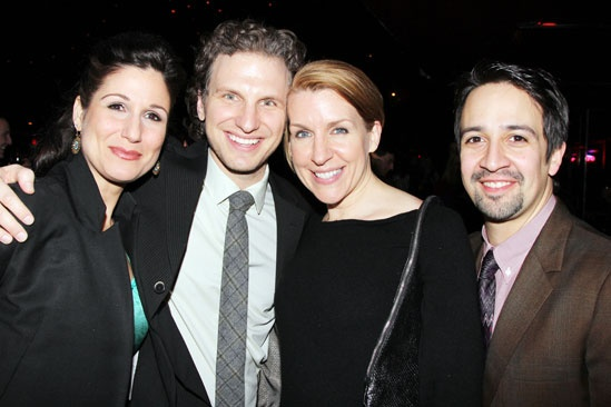 Hands on a Hardbody – Opening Night – Stephanie J. Block – Sebastian Arcelus – Susan Blackwell – Lin Manuel Miranda