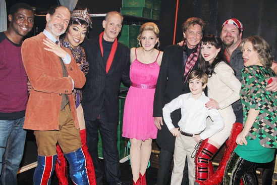Kinky Boots- Cast – John Waters- Barry Manilow