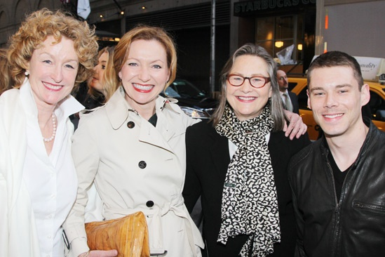 Nance Opening- Lisa Banes- Julie White- Cherry Jones- Brian J. Smith