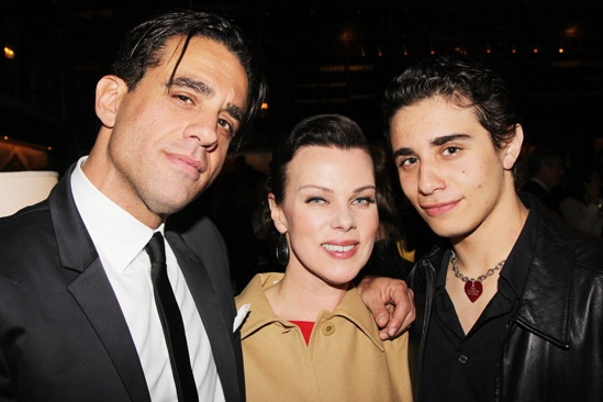 'The Big Knife' Opening — Bobby Cannavale — Debi Mazar — Jake Cannavale