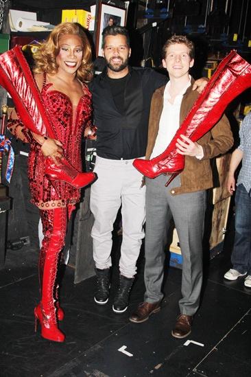 Kinky Boots- Billy Porter- Ricky Martin- Stark Sands