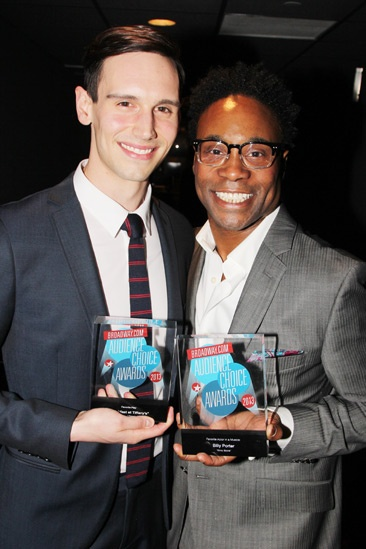 2013 Audience Choice Awards- Cory Michael Smith- Billy Porter
