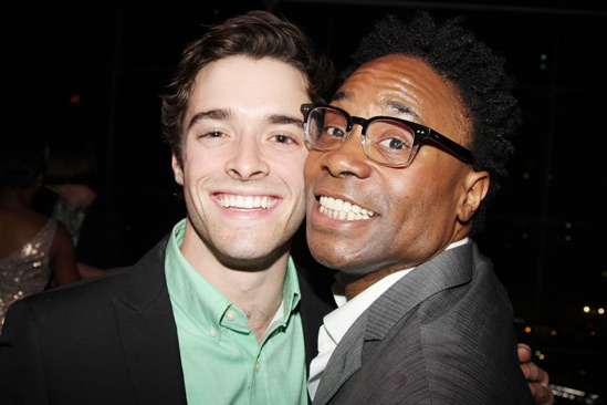 2013 Audience Choice Awards- Corey Cott- Billy Porter